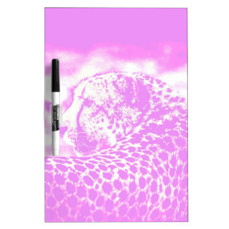Pink Leopard Dry Erase Whiteboards
