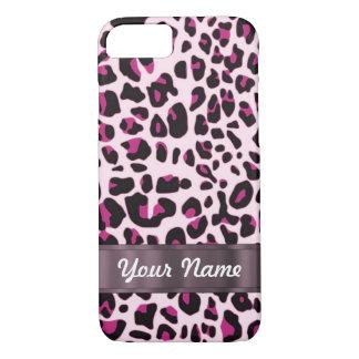 Pink leopard iPhone 8/7 case