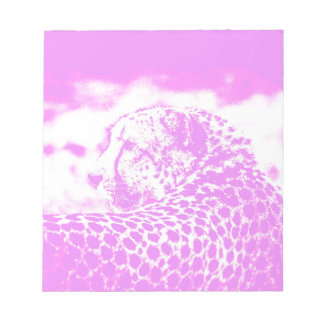 Pink Leopard Notepad