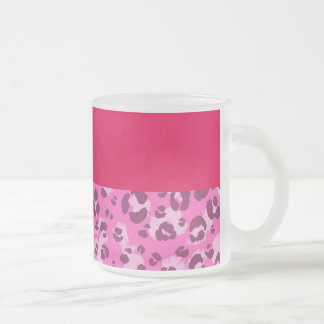Pink Leopard Print Mug