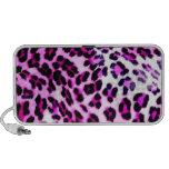 pink leopard print speaker