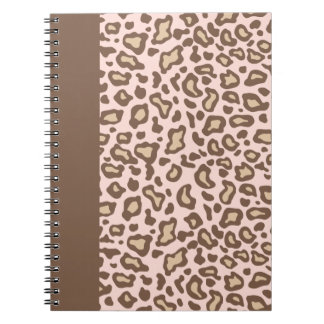Pink Leopard School Notebook Journal Gift