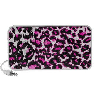 Pink Leopard Spots Speaker System