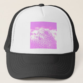 Pink Leopard Trucker Hat