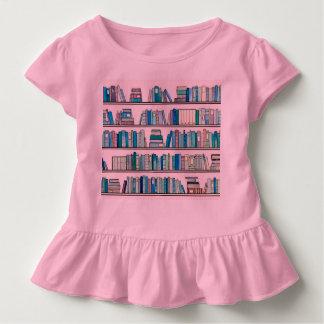 Pink Library Ruffle Tee