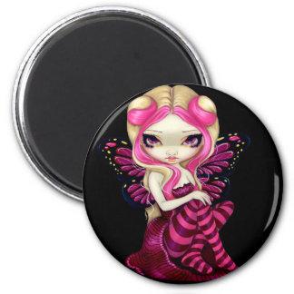 """""""Pink Lightning"""" Magnet"""