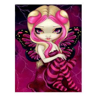 """Pink Lightning"" Postcard"