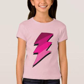 Pink Lightning Thunder Bolt T-Shirt