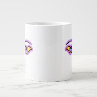 Pink Lilac Buddha Eyes png Extra Large Mug