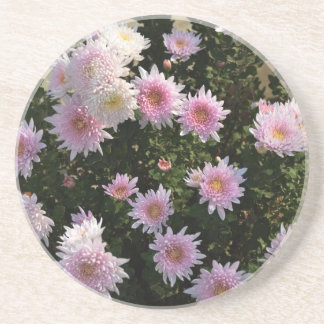 Pink Lilies Drink Coaster