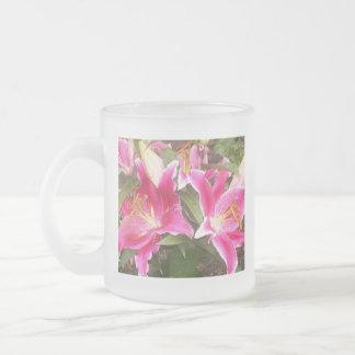 Pink Lilies Mug