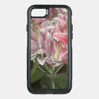 Pink Lilies OtterBox Commuter iPhone 8/7 Case