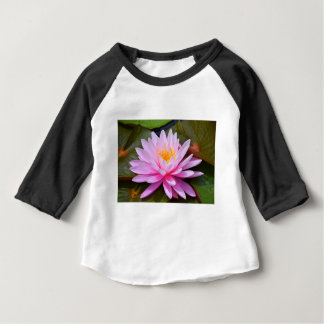 Pink Lily Baby T-Shirt