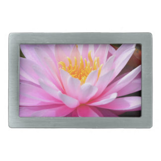 Pink Lily Belt Buckle