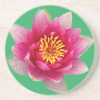 Pink Lily Beverage Coasters