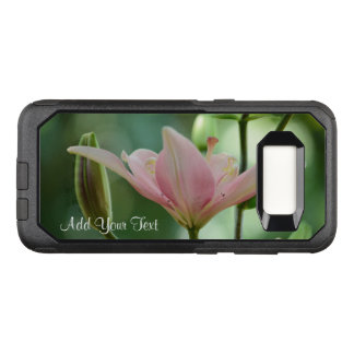 Pink Lily-Bokeh by Shirley Taylor OtterBox Commuter Samsung Galaxy S8 Case