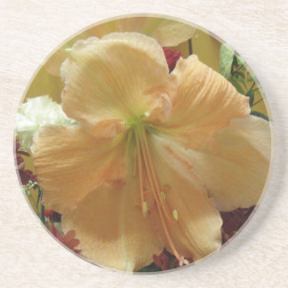 Pink Lily Bouquet Coasters