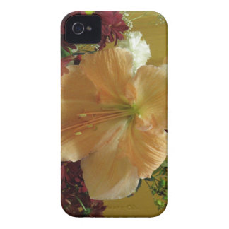 Pink Lily Bouquet iPhone 4 Case