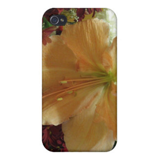 Pink Lily Bouquet  iPhone 4 Cover