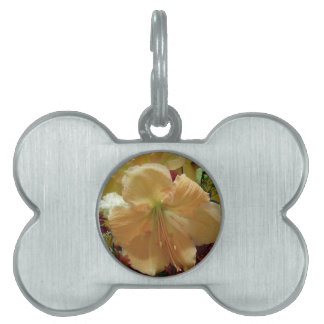 Pink Lily Bouquet Pet Tag