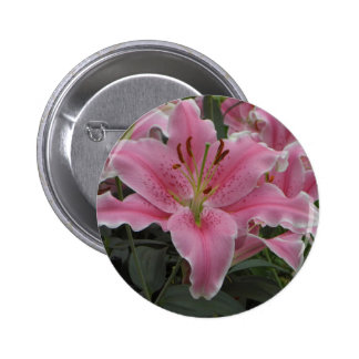Pink Lily Button