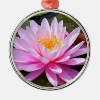 Pink Lily Christmas Ornament