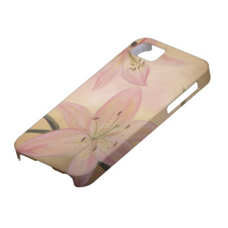 Pink Lily iPhone 5 Case