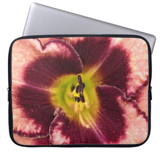 Pink Lily Laptop Sleeve