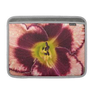 Pink Lily MacBook Air Sleeve