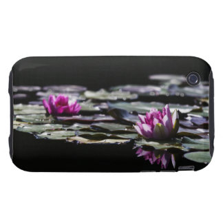Pink Lily Reflective iPhone 3G/3GS Case Tough iPhone 3 Cover