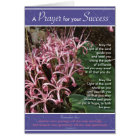 Pink Lily Success Card