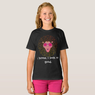 Pink lion in style T-Shirt