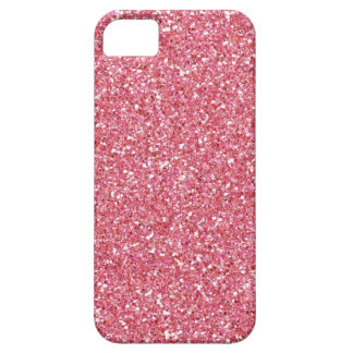 Pink Lipgloss Glitter iPhone 5 Cases