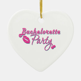 pink lips bachelorette party gifts bridal shower ceramic heart decoration