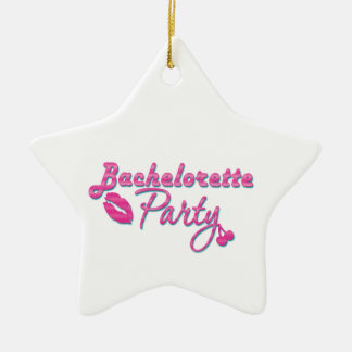 pink lips bachelorette party gifts bridal shower christmas tree ornaments