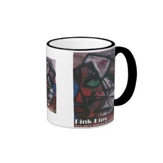 pink lips coffee mugs