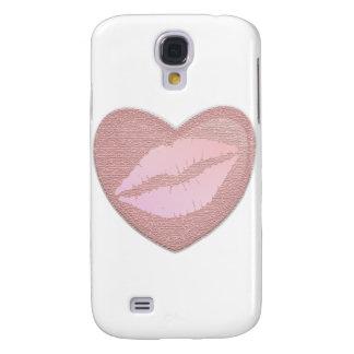 Pink Lipstick Galaxy S4 Cases