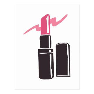 Pink Lipstick Postcard