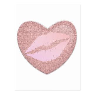 Pink Lipstick Postcards