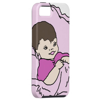 pink little girl iPhone 5 covers
