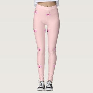 Pink Little Piggy Leggings