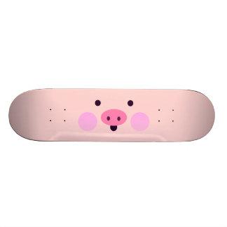Pink Little Piggy Skateboard