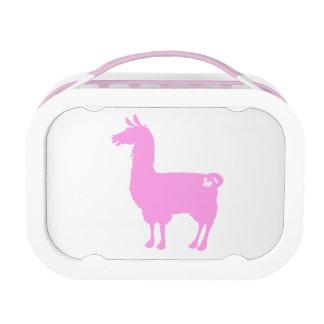 Pink Llama Lunch Box
