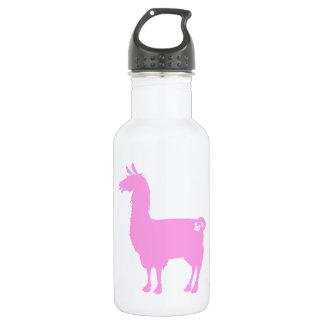 Pink Llama Water Bottle