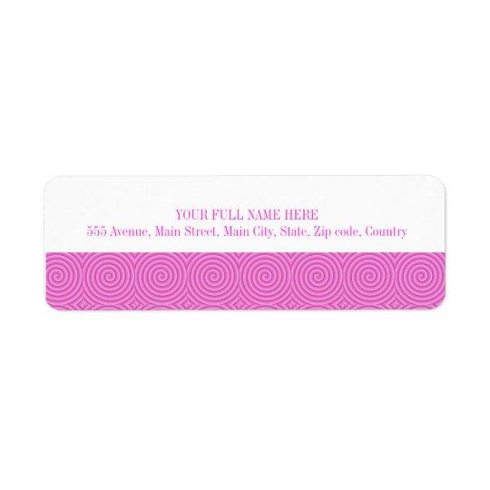 Pink Lollypop Pattern