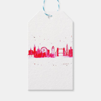 Pink London Gift Tags