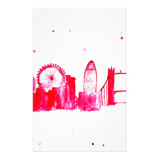 Pink London Stationery