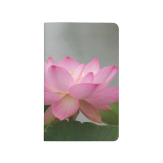Pink Lotus Blossom Journal
