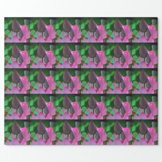 Pink Lotus Blossoms Wrapping Paper