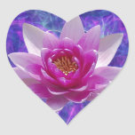 Pink lotus flower and meaning stickers